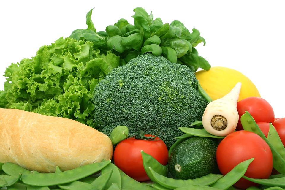 Brokolice a další zelenina