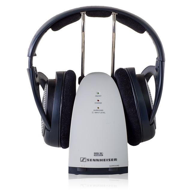 sennheiser bezdrátová sluchátka