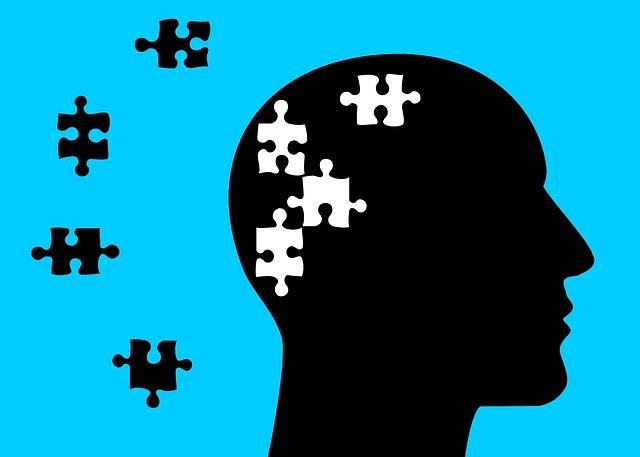 puzzle a hlava