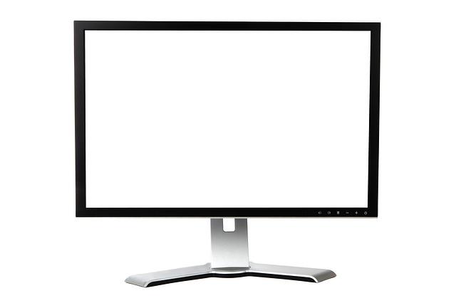 bílá obrazovka