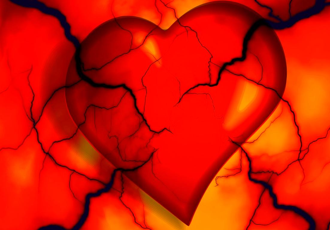 srdce trápení